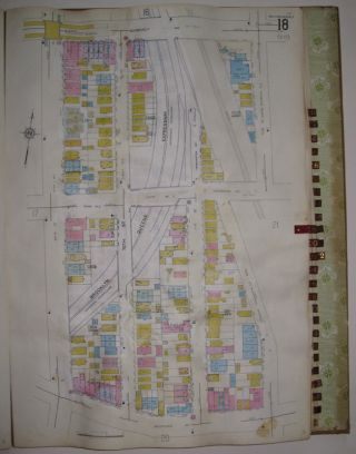 Vol. 9 of 29 Atlases of Insurance Maps for Queens. Woodside & Maspeth. SANBORN MAP COMPANY.