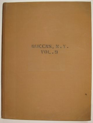Vol. 9 of 29 Atlases of Insurance Maps for Queens. Woodside & Maspeth