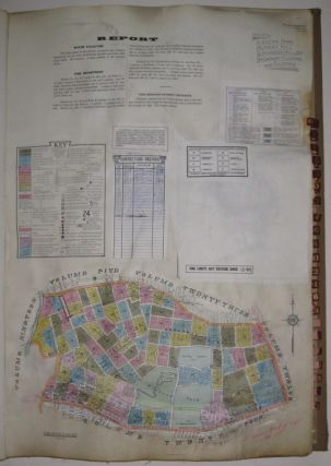 Vol. 11 of 29 Atlases of Insurance Maps for Queens. Flushing. SANBORN MAP COMPANY