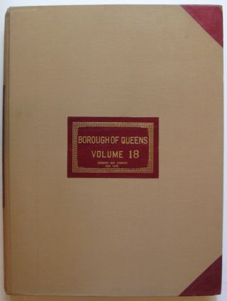 Vol. 18 of 29 Atlases of Insurance Maps for Queens.Howard Beach and Ozone Park