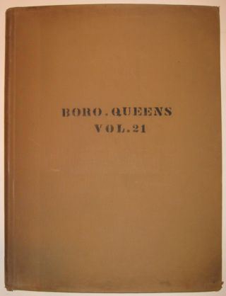 Vol. 21 of 29 Atlases of Insurance Maps for Queens. Rockaway Peninsula & Broad Channel