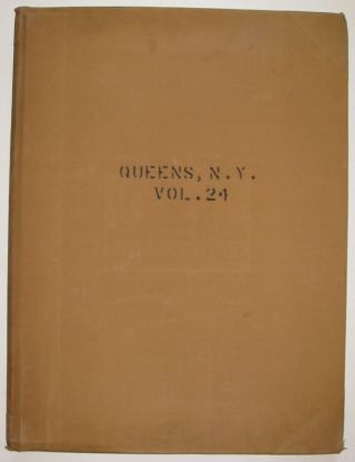 Vol. 24 of 29 Atlases of Insurance Maps for Queens. Flushing Heights & Jamaica. SANBORN MAP COMPANY