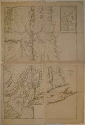 Province de New York en 4. Feuilles. Georges-Louis LE ROUGE