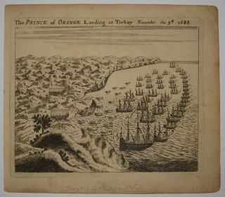 The Prince of Orange Landing at Torbay November 5th 1688. John SELLER