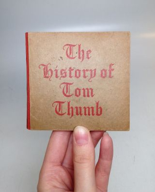 The History of Tom Thumb. Hans Christian ANDERSEN