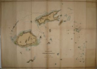 Chart of the Viti Group or Feejee Islands. Charles Esq WILKES