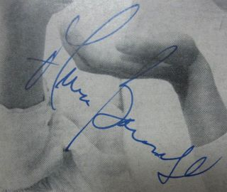 """Signed Playbill -- """"The Miracle Worker"""""""
