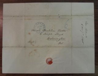 Autographed Letter Signed by the steamboat and railroad pioneer