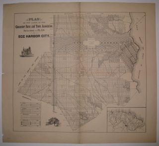 Plan of the Lands of the Gloucester Farm and Town Association, including a Plan of Egg Harbor...