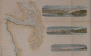 Reconnaissance of the Western Coast of the United States (Northern Sheet) from Umpquah River to the Boundary