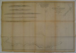 Chart of the Antarctic Continent Shewing the Icy Barrier Attached to it. Charles WILKES, Esq.