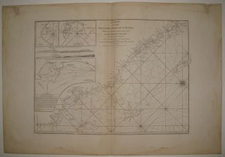 A Chart of the Western Coast of Sumatra from Touroumane to Indrapour with the Adjacent Islands. LAURIE, WHITTLE.