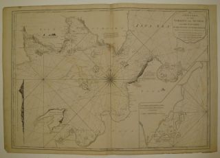 A New Chart of the Straits of Sunda, from the Manuscript of the Dutch East India Company. LAURIE,...