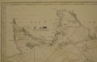 A New Chart of the Straits of Sunda, from the Manuscript of the Dutch East India Company...