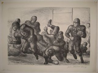 Football Game. John Steuart CURRY