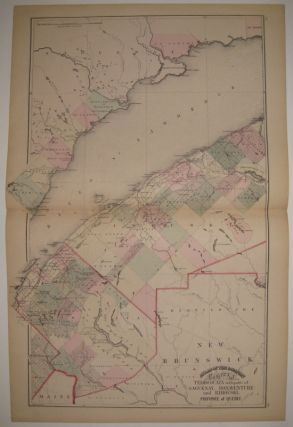 Atlas of the Dominion County of Temiscouata with parts of Saguenay, Bonaventure and Rimouski....