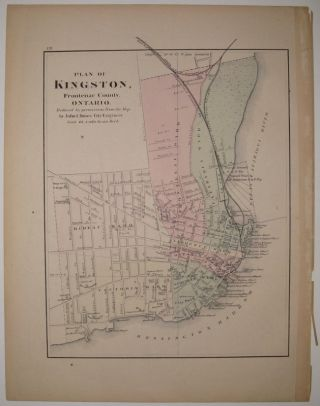 Atlas of the Dominion County of Temiscouata with parts of Saguenay, Bonaventure and Rimouski. Province of Quebec