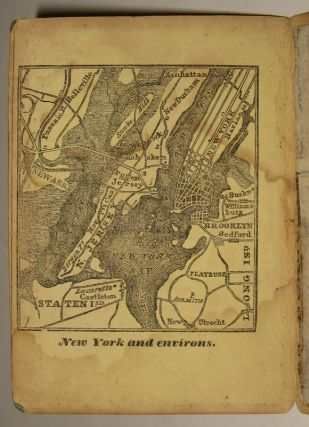Morrison's North River Traveller's Companion Containing a Map of the Hudson or North River, with a Description of the adjoining Country; the Names and Distances of the different Towns, the Names and Heights of the surrounding Mountains, &c...