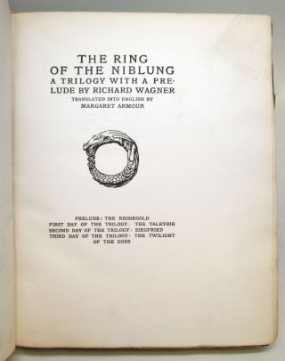 Siegfried and the Twilight of the Gods. Part II of the Ring of the Nibelung series