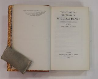 Blake: Complete Writings with Variant Readings.