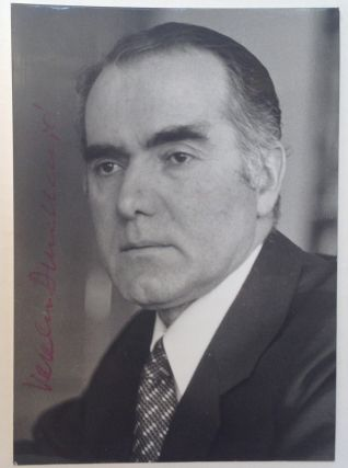 Signed Photograph. Veselin DURANOVIC, 1925 - 1997