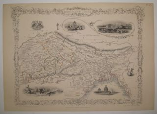 Northern India including the Presidency of Calcutta. John TALLIS