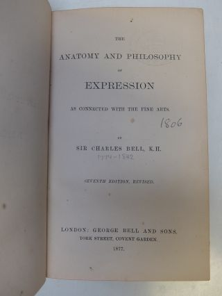 The Anatomy and Philosophy of Expression as Connected with the Fine Arts.
