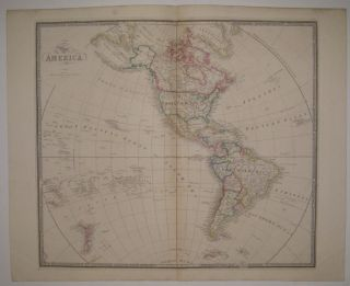 Map of America. James WYLD