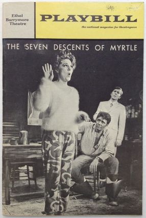 "Signed Playbill -- ""The Seven Descents of Myrtle"""
