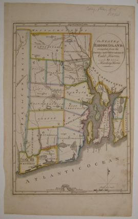 The State of Rhode Island; compiled from the Surveys and Observations of Caleb Harris by Harding...