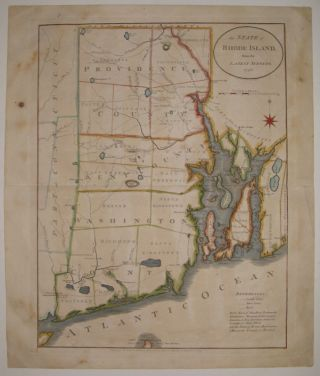 The State of Rhode Island from the Latest Surveys. John REID, Benjamin TANNER