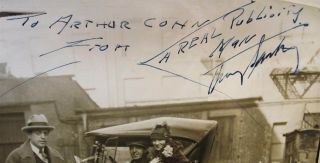 Inscribed Vintage Photograph Signed Twice
