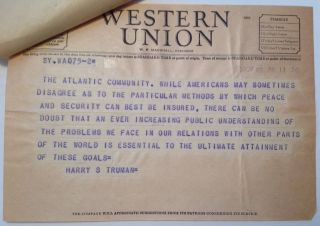 Presidential Telegram