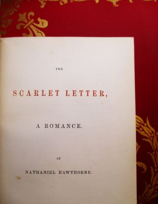 The Scarlet Letter, a Romance.