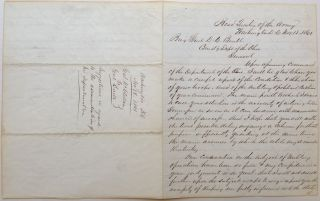 Historically Important War-Date Autographed Letter Signed. George B. McCLELLAN, 1826 - 1885