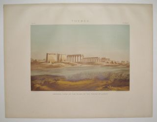Thebes. General View of the Ruins of the Temple of Luxor. Samuel Augustus BINION