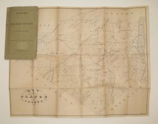 Survey of Orange County. From Transactions N.Y. State Agricultural Society, 1862. Goldsmith DENNISTON.