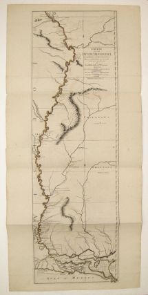 Course of the River Mississippi from the Balise to Fort Chartres; Taken on an expedition to the...