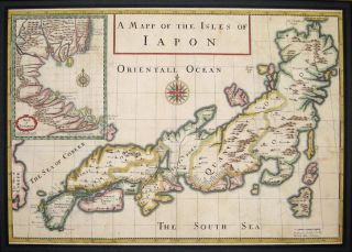 A Mapp of the Isles of Iapon. Jean Baptiste TAVERNIER