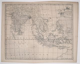 An Accurate Map of the East Indies Exhibiting the Course of the European Trade both on the...