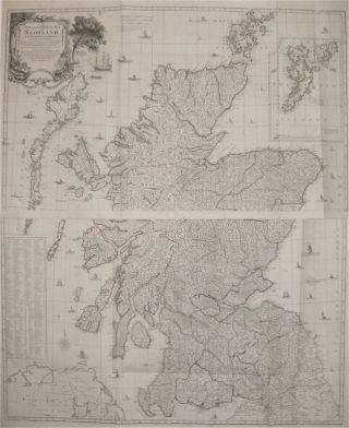 A New and Complete Map of Scotland And Islands thereto belonging. Thomas KITCHIN