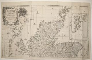 A New and Complete Map of Scotland And Islands thereto belonging