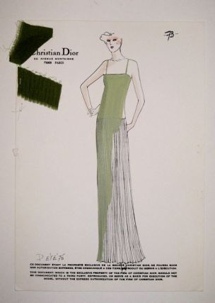 Spring/Summer 1976 Plate 73. Christian DIOR.