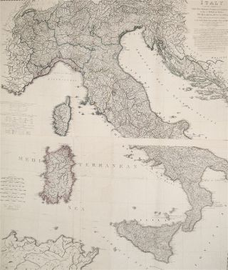 Italy with the Addition of The Southern Parts of Germany as far as Pettau in Stiria; Murlakia, Dalmatia, The Adjacent Countries and All The Illyric Islands