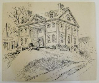 The Apthorpe Mansion. FERAUD