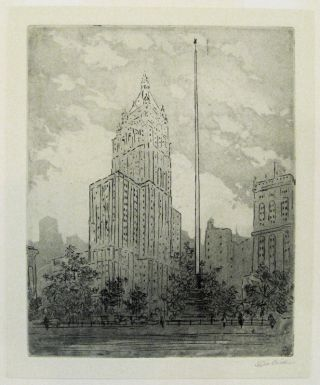 Madison Square. Louis Leon DOLICE