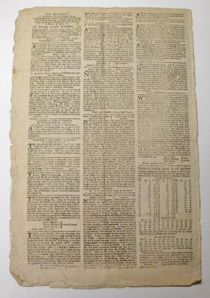 The Boston-Gazette, and Country Journal. No. 1235. April 27, 1778