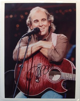 Signed Photograph. Jimmy BUFFET, 1946