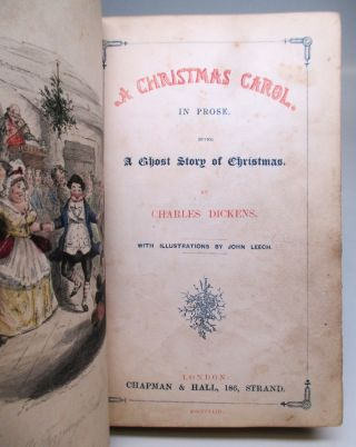 A Christmas Carol in Prose: Being A Ghost Story of Christmas.
