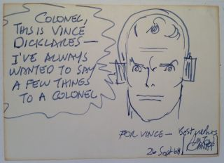 Original Drawing and Inscription. Milton CANIFF, 1907 - 1988